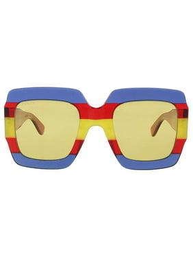 Gucci GG0178S Sunglasses 002 Multicolor