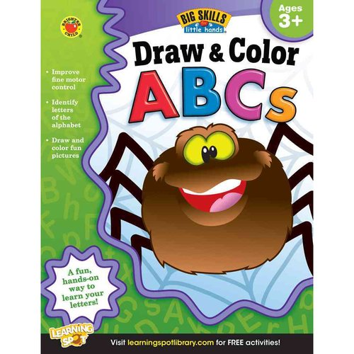 Draw & Color ABCs: Ages 3+