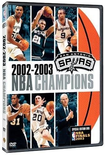 2002-2003 NBA Champions: San Antonio Spurs [DVD] by TIME WARNER