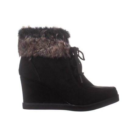 ESPRIT Felice Wedge Ankle Boots, Black - image 3 of 6