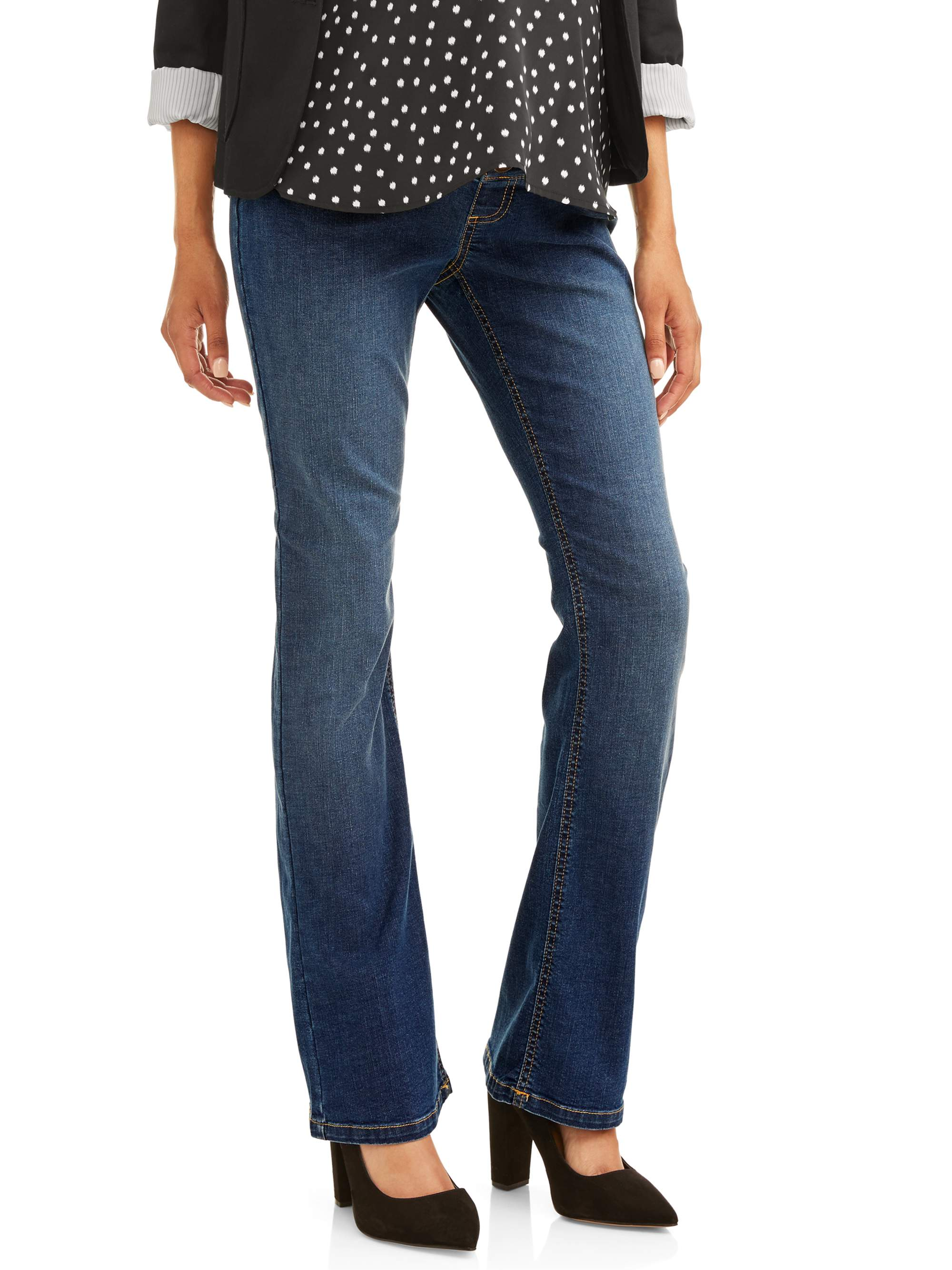 Full Panel 5 Pocket Bootcut Maternity Jeans