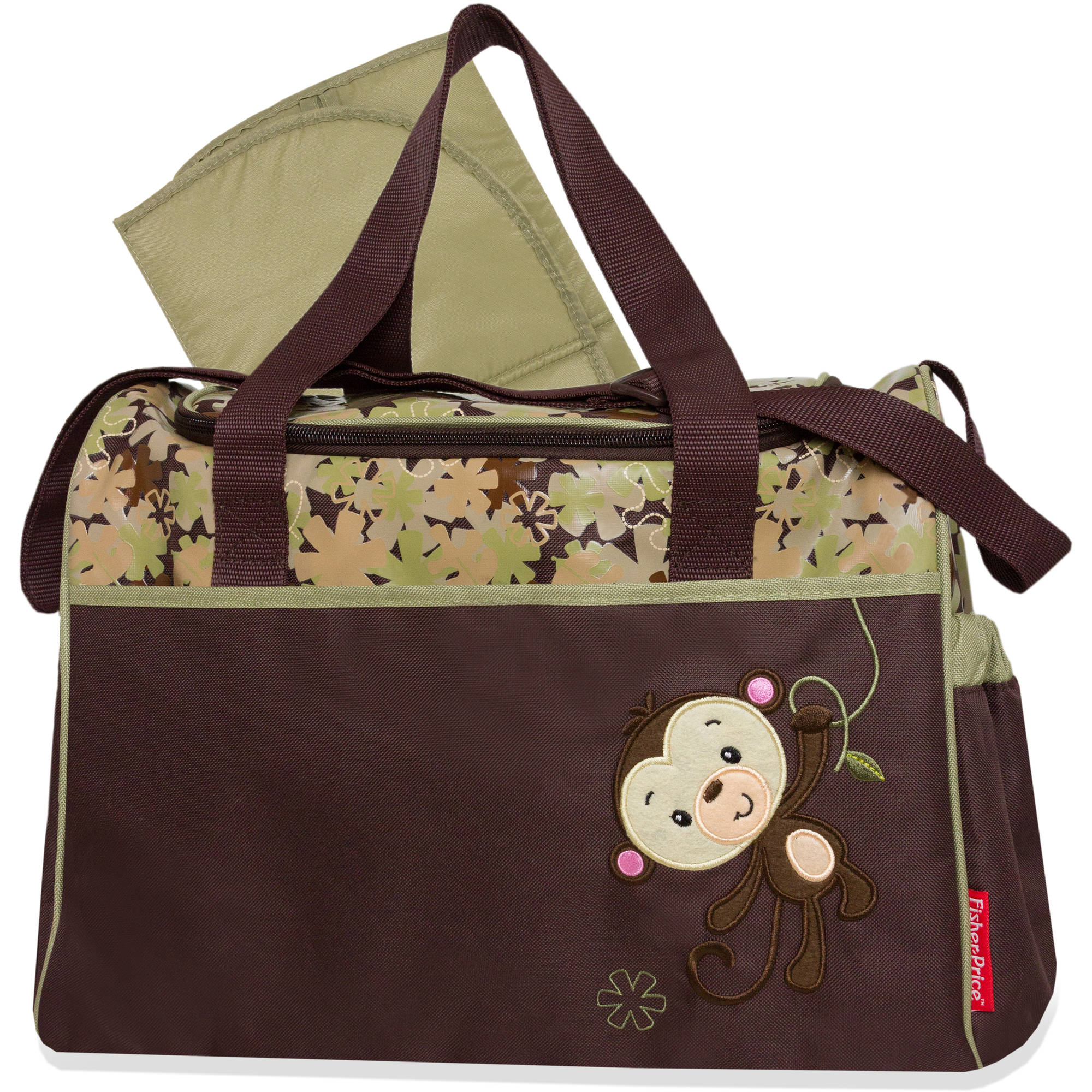 Fisher-Price Monkey Duffle Diaper Bag
