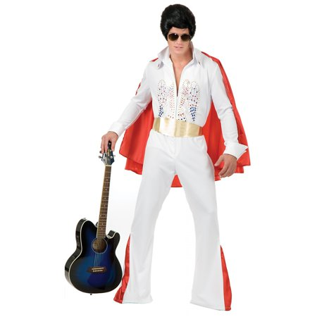3x Costume (Rhinestone Rock Star Adult Costume - Plus Size)