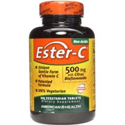 American Health Ester-C, 500mg with Citrus Bioflavonoids, 225 CT
