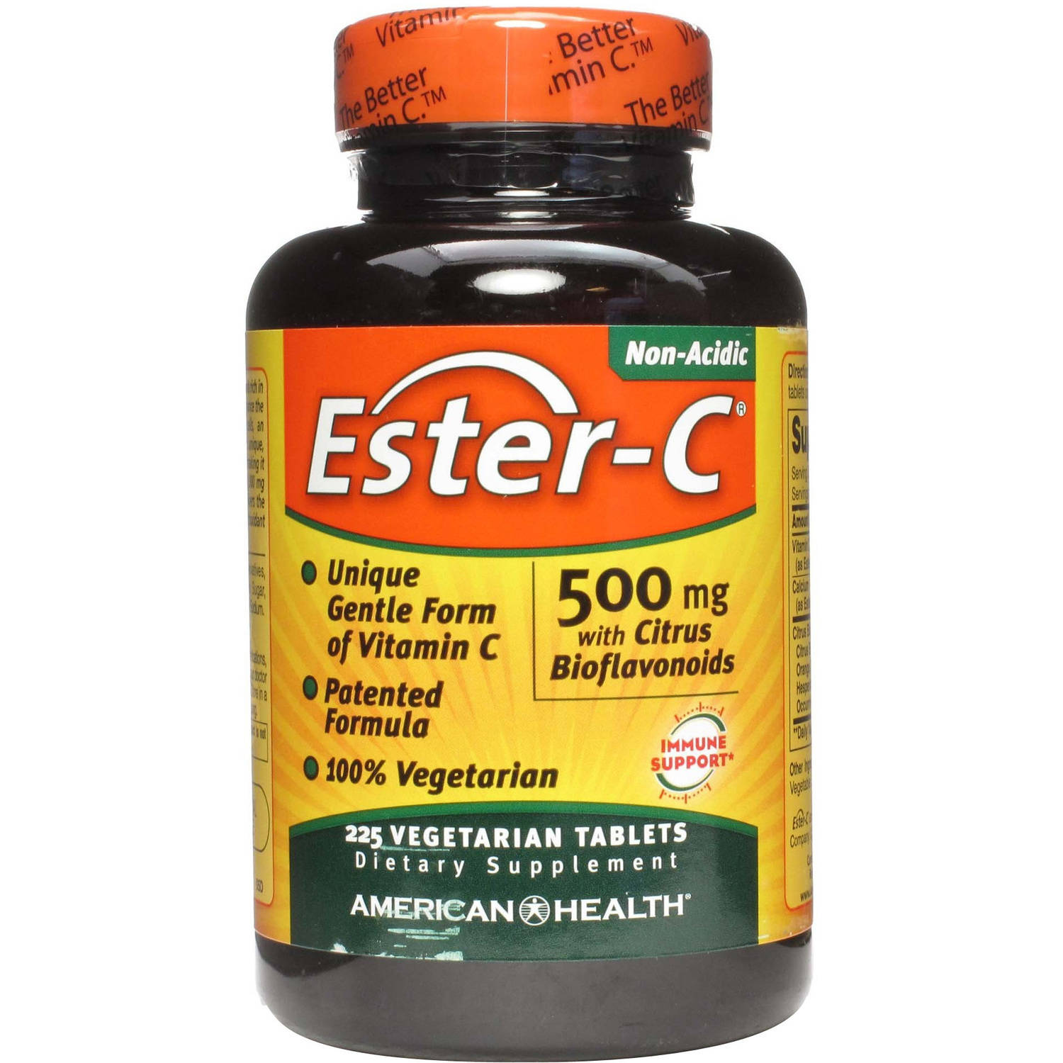 American Health Ester-C, 500mg with Citrus Bioflavonoids, 225 CT
