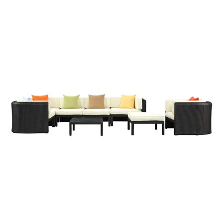 Modway Patio Sectional Set