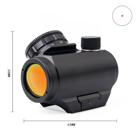 Bushnell Trophy Red Dot Scope Metal Multi Coated Lens Waterproof Shockproof Anti-fog Battery Operated Hunting