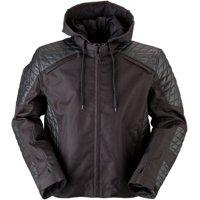 Z1R Conqueror Mens Leather Jacket Black
