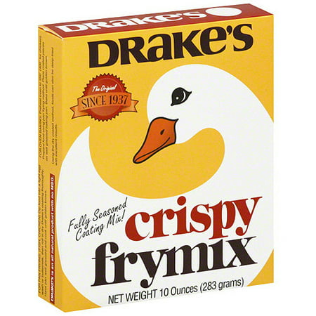 Drakes Crispy Fry Mix  10 Oz  Pack Of 12