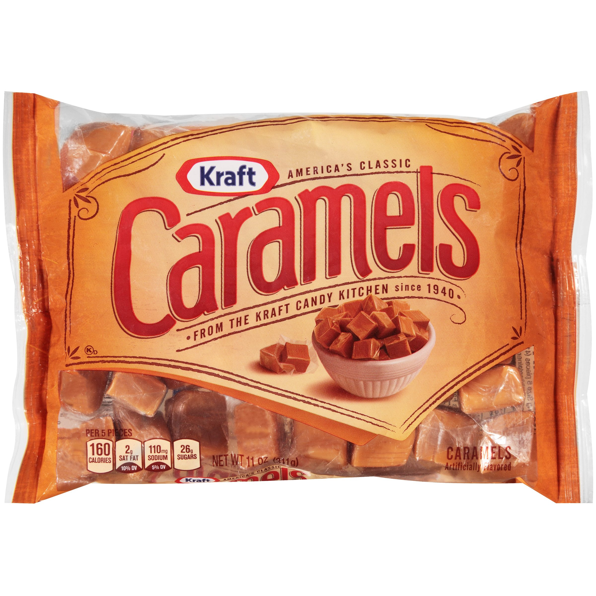 Kraft Halloween Vanilla Caramels, 11 oz by Kraft Foods, Inc.