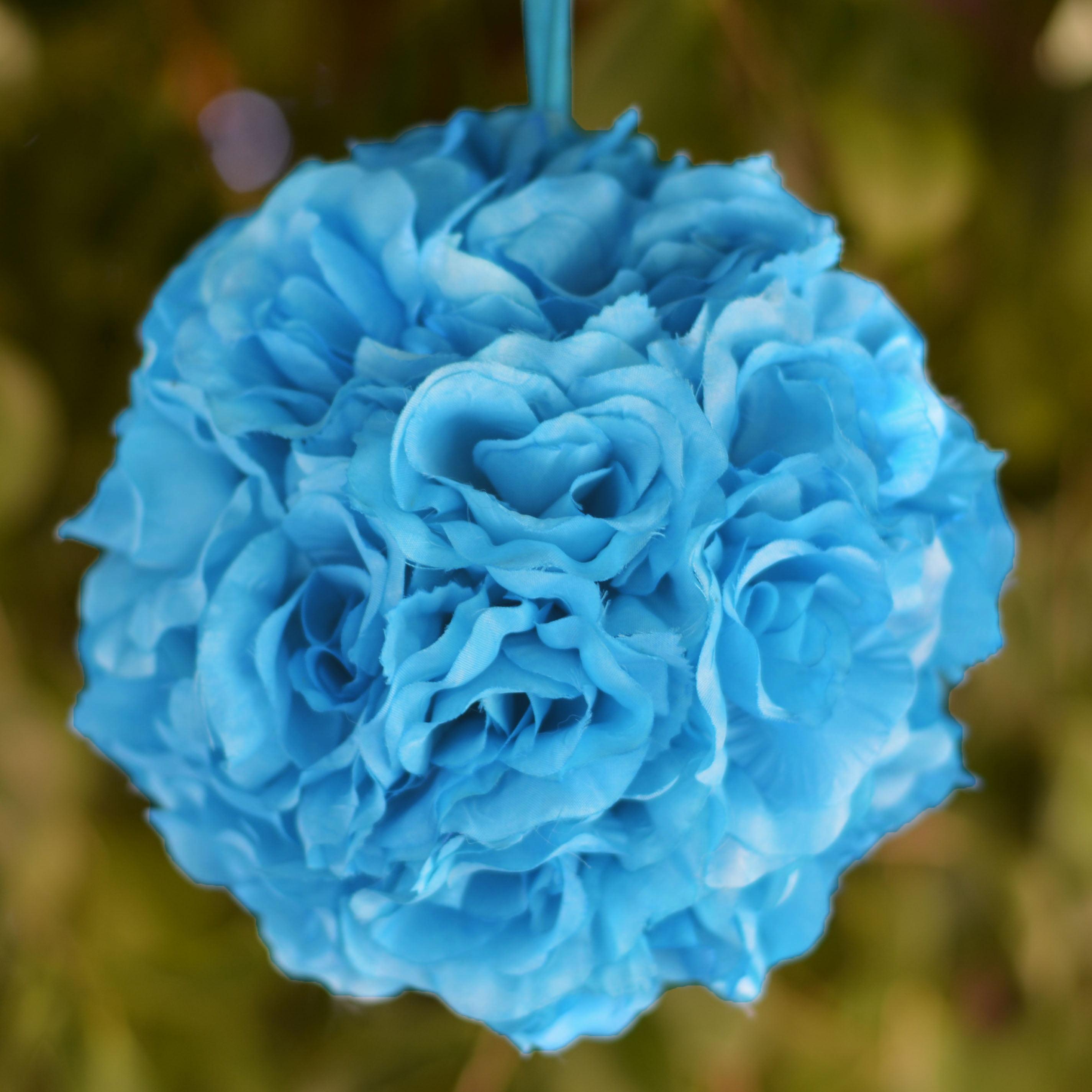 Whole Foods Florist Wedding: Efavormart 4 PCS Rose Pomander Silk Flower Balls For DIY