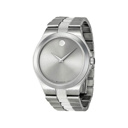 beb393f64751f9 Movado - Silver Dial Stainless Steel Mens Watch 0606556 - Walmart.com