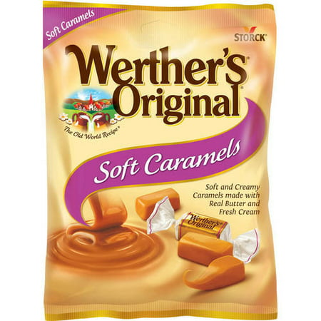 Storck Werther's Original Soft Caramel Candies, 4.51 Oz.