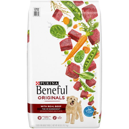 Purina Beneful Dry Dog Food, Originals With Real Beef - 40 lb.
