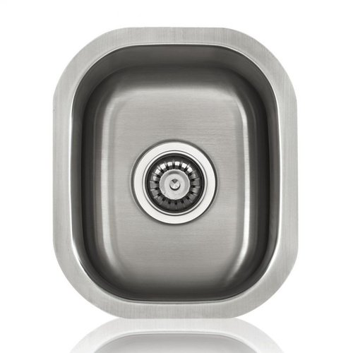 Lenova SS-SPL-S3 Specialty Bowl Single Basin Kitchen Sink, Stainless Steel