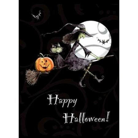 Happy Halloween Rolled Canvas Art - PS Art Studios (20 x 28)](Happy Halloween Makeup Studio)