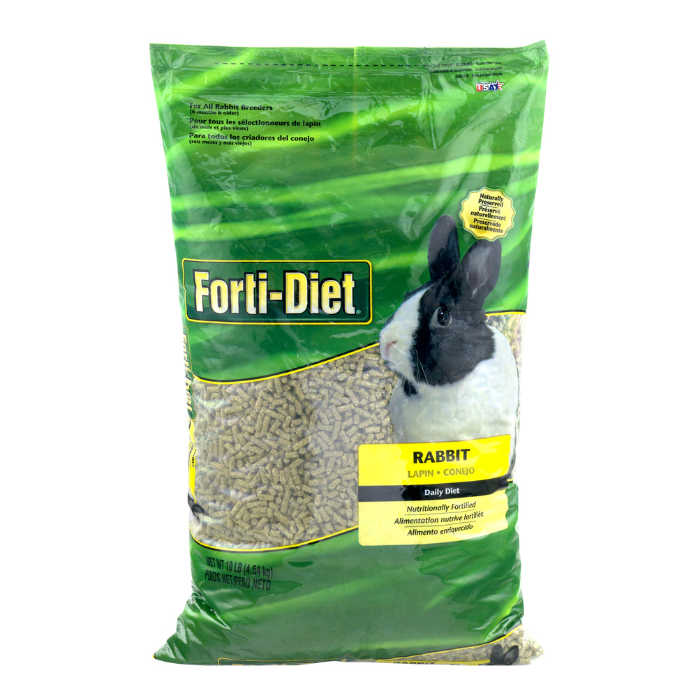 Forti-Diet Rabbit Food by Kaytee Products, Inc