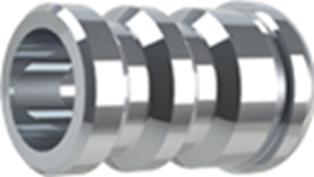 XLR Male-Male and One XLR Female female Barrel connector  adapter 2Pk 4011FE