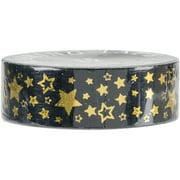 Love My Tapes Foil Washi Tape 15mmx10m-Gold Stars