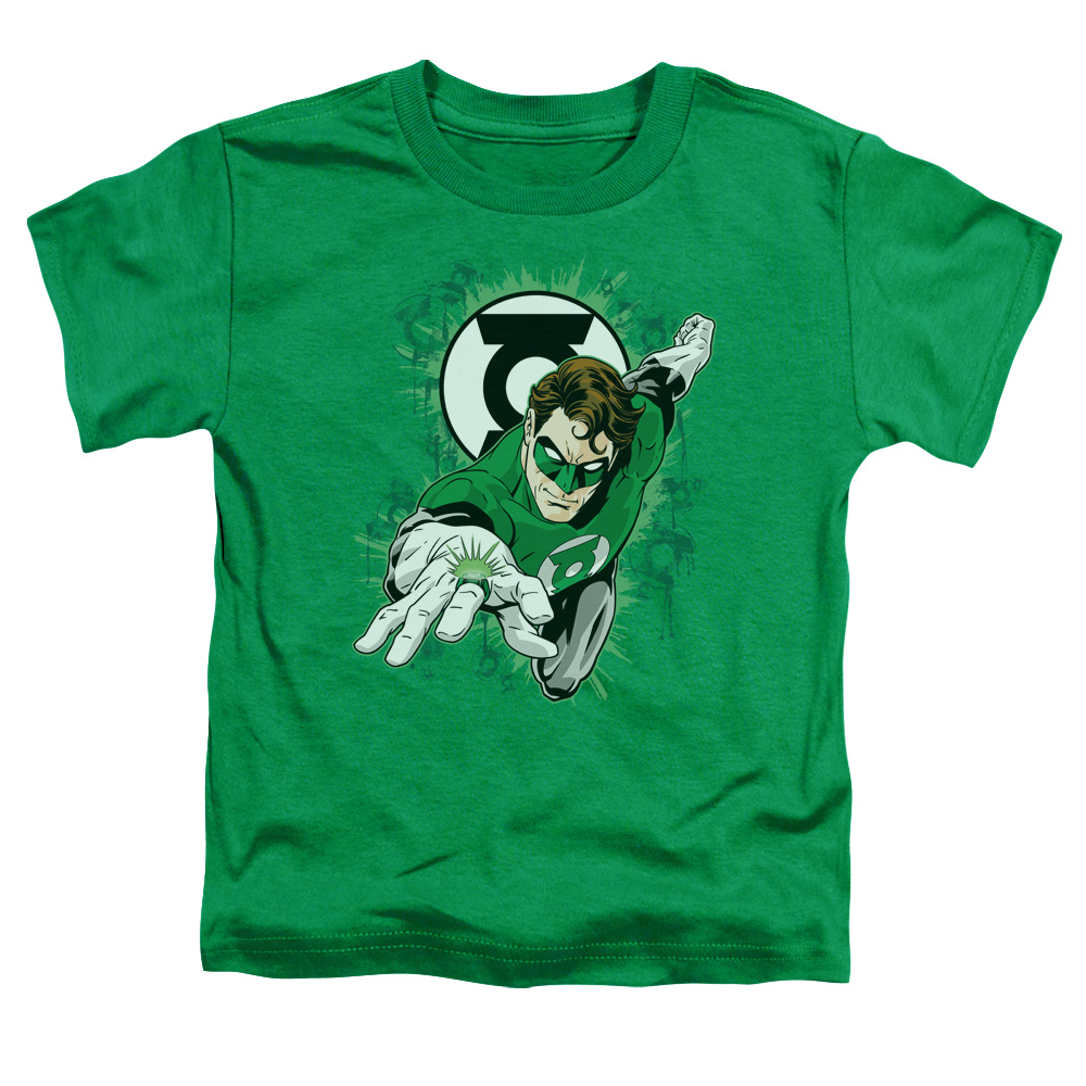 GL/RING FIRST - S/S TODDLER TEE - KELLY GREEN - LG (4T)
