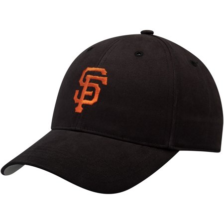 San Francisco Giants Fan Favorite Youth Basic Adjustable Hat - Black - (San Francisco Giants Legend)