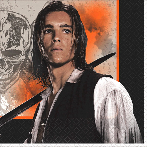 Pirates of the Caribbean 'Dead Men Tell No Tales' Lunch Napkins (16ct)