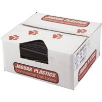 Jaguar Plastics Commercial Trash Can Liners, 56 gal, 100 count