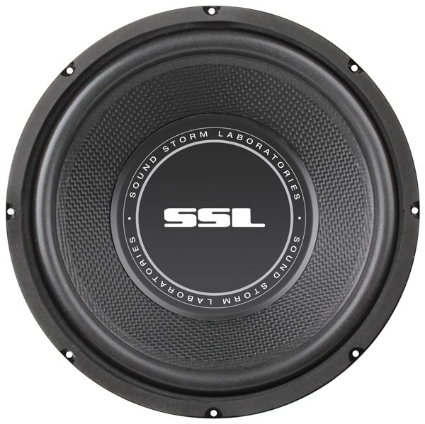 "Soundstorm SS8 SS Series High-Power Single 4Ω Voice-Coil Subwoofer with Poly-Injection Cone, 8"", 400 Watts"