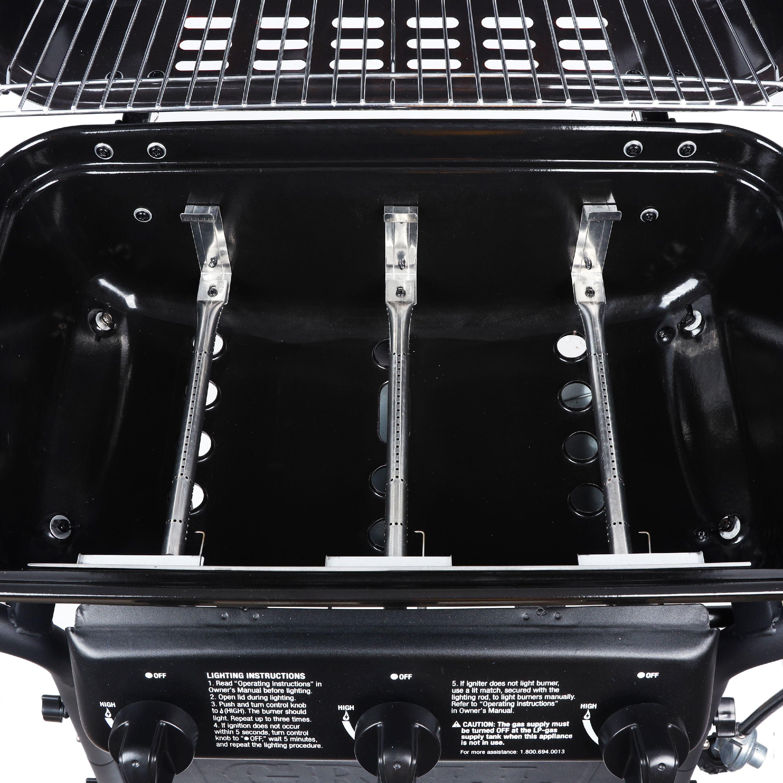 Expert Grill 6 Burner 6,6 BTU Gas Grill, Black, XG6-61-6-6