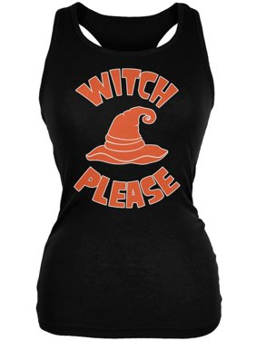 67049c4e3a2e8 Product Image Halloween Witch Please Black Juniors Soft Tank Top