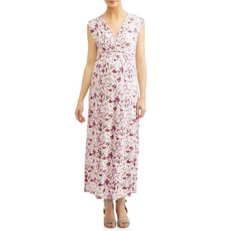 c31a80154d6d8 Liz Lange Maternity - Maternity Waist-Tie Nursing Friendly Maxi ...