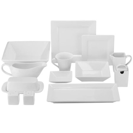10 Strawberry Street Nova Square 40 Piece Dinnerware Set