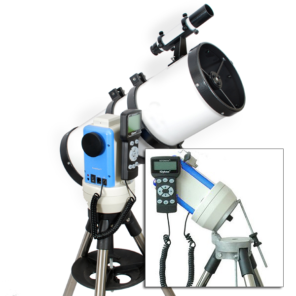 "Twinstar 6"" GPS Computerized Reflector Telescope with EQ Mount, White by Twinstar"