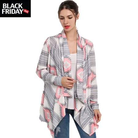 Asymmetrical Long sleeve Kimono Knitted Cardigans Black Friday Deal gift for Women, Thin Sweater Blouse Christmas day gift for girl, Fabric Cover-up Kimono Cardigan Tops](black friday gift deals)