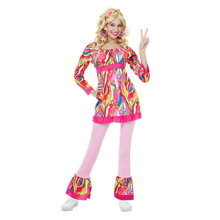 Adult Disco Top and Bell Bottoms Costume (Bell Bottom Suit)