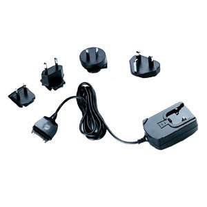 International Travel Charger Adapter For Usa  Uk  Continental Europe  And Asia Pacific Outlet Adapters Compatible With Tungsten C  Palm M505  Palm M500   Black