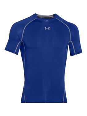 Under Armour 1257468 Men's Royal HeatGear S/S Compression Shirt - Size Medium
