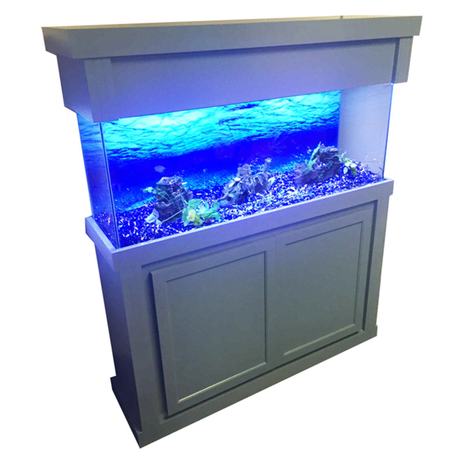 R;J Enterprises Modern Birch Aquarium Stand