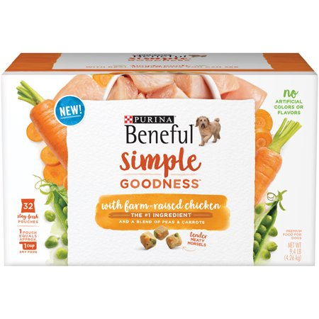 Purina Beneful Simple Goodness With Farm Raised Chicken Adult Dry