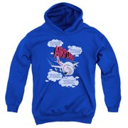 Airplane Picked The Wrong Day Big Boys Pullover Hoodie