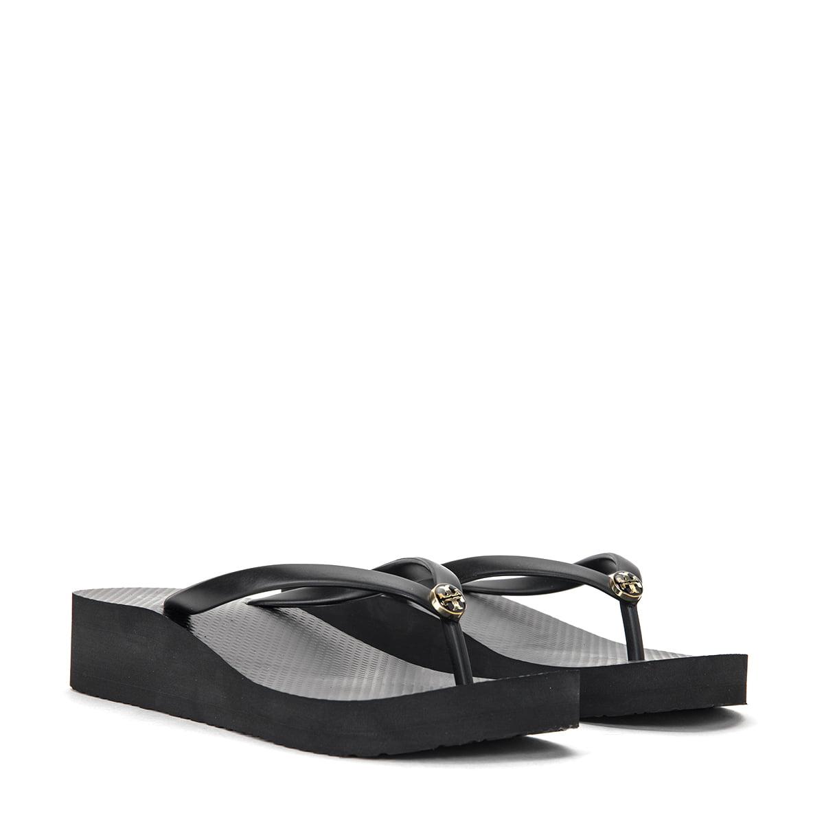 Wedge Flip-Flops 50008673-009 Black