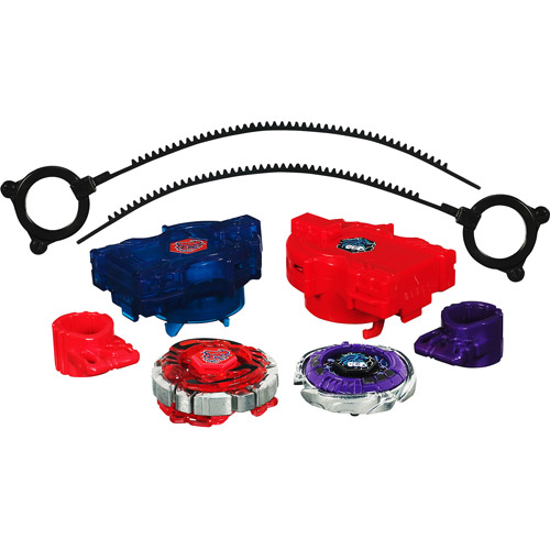 Beyblade Metal Fusion Red Horn Uppercut 2-Pack BB40A