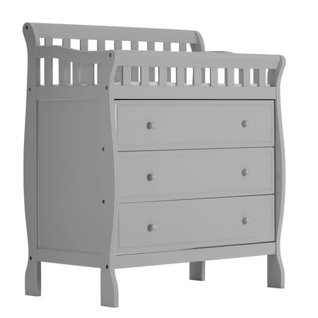 Dream On Me Marcus Changing Table And Dresser Mystic Gray