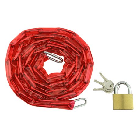 Red Beach Cruiser - Chain Lock 72