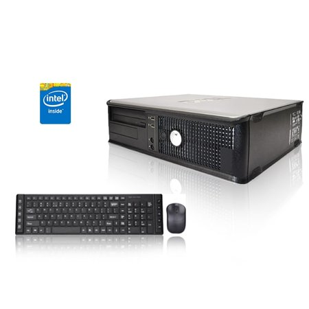 Refurbished - Dell Optiplex Desktop Computer 3.0 GHz Core 2 Duo Tower PC, 2GB, 250GB HDD, Windows 10 Home x64, NVIDIA Geforce GT720 HDMI/VGA/DVI 1GB DDR3, USB Mouse &
