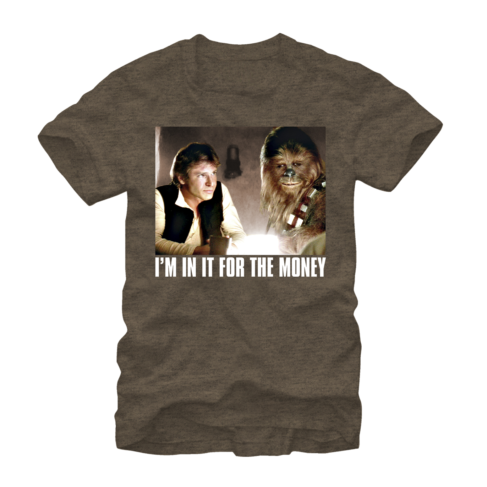 Star Wars I'm in it for the Money Mens Graphic T Shirt