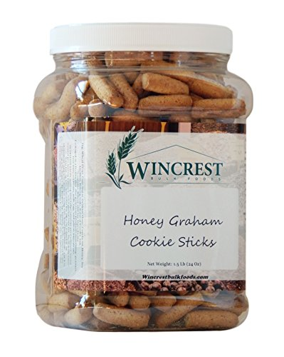 Cinnamon Honey Pretzels Graham Sticks 1.5 Lb Tub by Tom Sturgis