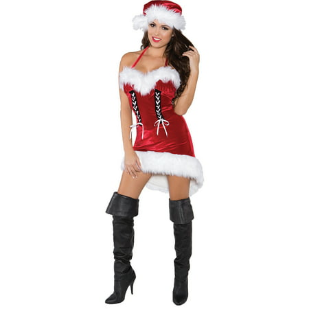 Miss Santa Adult Halloween Costume - Miss America Pageant Halloween Costumes