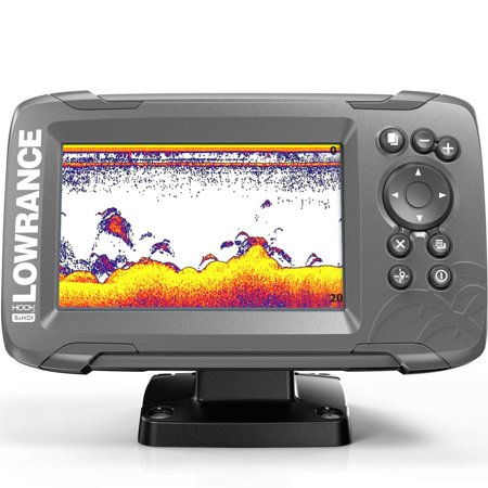 Lowrance HOOK2 5X - 5-inch Fish Finder with SplitShot Transducer and GPS