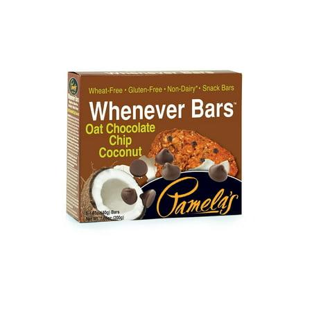 Pamela's Whenever Snack Bar, Oat Chocolate Chip Coconut, 1.41 Oz (Snack Bar Ideas)